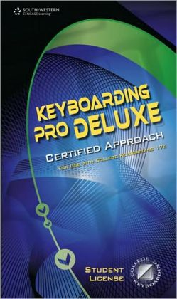 Keyboarding Pro DELUXE Certified Version 1.3, Lessons 1-120