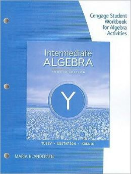 Student Workbook Binder for Tussy/Gustafson/Koenig's Intermediate Algebra, 4th