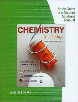 Study Guide with Solutions Manual for Chemistry for Today, 7th