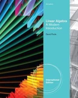 Linear Algebra: A Modern Introduction
