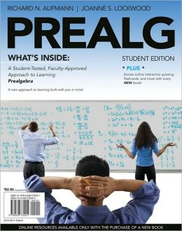 PREALG (with Review Cards and Bind-In Printed Access Card)