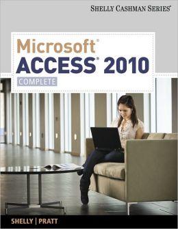 Microsoft Access 2010: Complete
