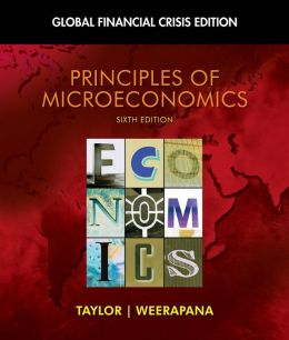Microeconomics, Financial Crisis Updated Edition (Book Only)