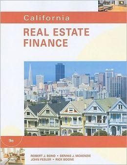 California Real Estate Finance