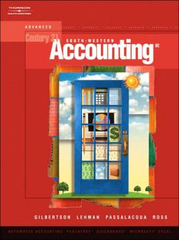 Century 21 Accounting: Advanced (with CD-ROM)