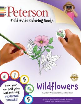 Peterson Field Guide Coloring Books: Wildflowers