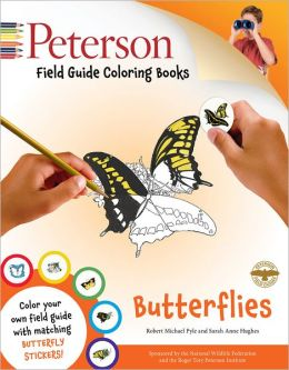 Peterson Field Guide Coloring Books: Butterflies