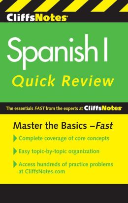 CliffsNotes Spanish I Quick Review, 2nd Edition
