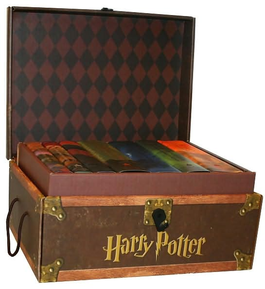 Harry Potter Book Hardcover Set ~ Harry potter hard cover boxed set books