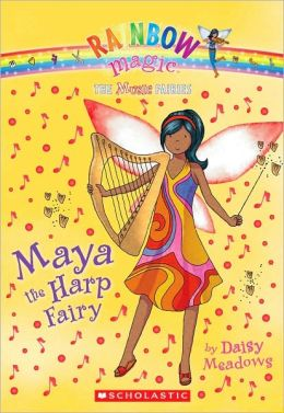 Maya the Harp Fairy (Music Fairies Series #5)