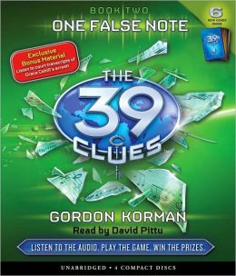 One False Note (The 39 Clues Series #2)