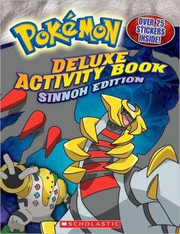 Pokemon Deluxe Activity Book: Sinnoh Edition