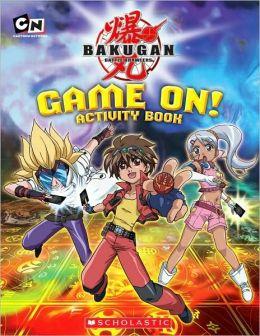 Bakugan: Game On! Activity Book