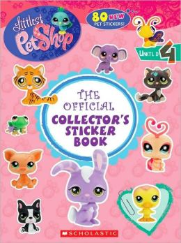 Official Collector's Sticker Book