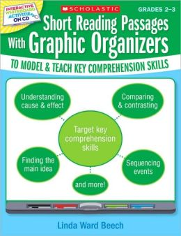 Interactive Whiteboard Activities: Short Reading Passages With Graphic Organizers to Model and Teach Key Comprehension Skills