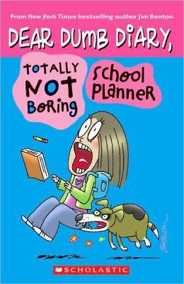 Totally Not Boring School Planner