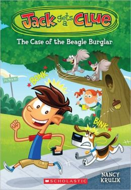 The Case of the Beagle Burglar (Jack Gets a Clue Series #1)