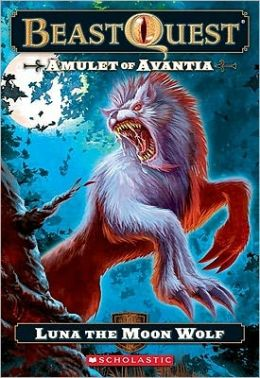 Luna: The Moon Wolf (Beast Quest Series #22)