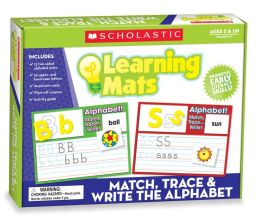 Match, Trace & Write the Alphabet Learning Mats