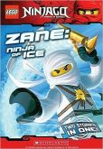 Book Cover Image. Title: Zane:  Ninja of Ice (Lego Ninjago Chapter Book Series #2), Author: Greg Farshtey