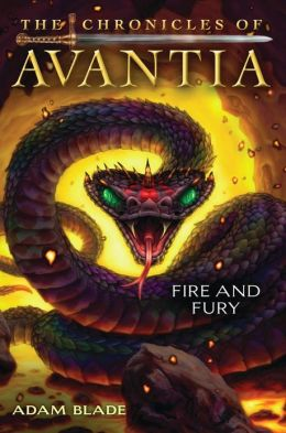 Fire and Fury (The Chronicles of Avantia Series #4)