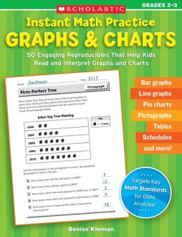Instant Math Practice: Graphs & Charts (Grades 2-3): 50 Engaging Reproducibles That Help Kids Read and Interpret Graphs and Charts (PagePerfect NOOK Book)