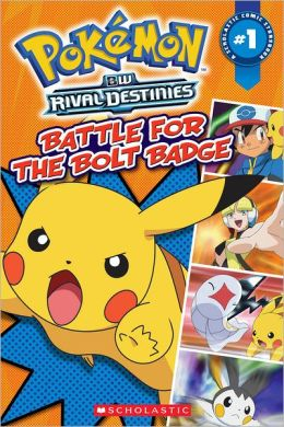 Battle for the Bolt Badge (Pokemon: Comic Reader Series #1)