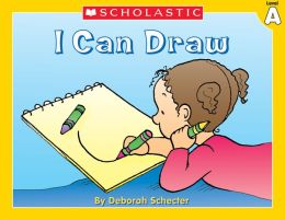 Little Leveled Readers: I Can Draw (Level A): Just the Right Level to Help Young Readers Soar! (PagePerfect NOOK Book)