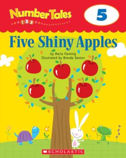 Number Tales: Five Shiny Apples (PagePerfect NOOK Book)