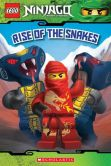 Book Cover Image. Title: Rise of the Snakes (Lego Ninjago Reader #4), Author: Tracey West