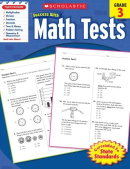 Scholastic Success with Math Tests (Grade 3) (PagePerfect NOOK Book)