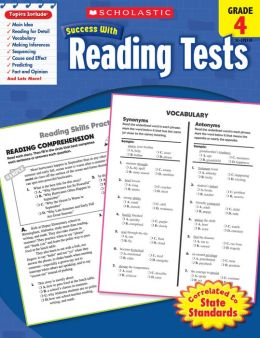 Scholastic Success With Reading Tests: Grade 4 (PagePerfect NOOK Book)