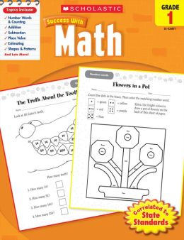 Scholastic Success with Math (Grade 1) (PagePerfect NOOK Book)