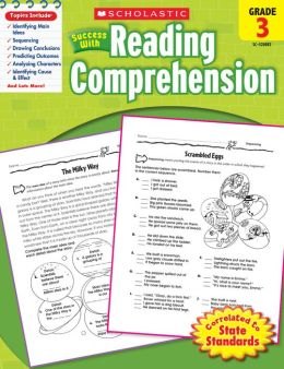Scholastic Success With Reading Comprehension: Grade 3 (PagePerfect NOOK Book)