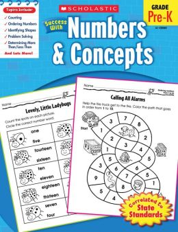 Scholastic Success With Numbers & Concepts (PagePerfect NOOK Book)