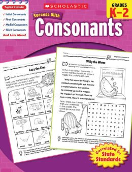 Scholastic Success with Consonants (PagePerfect NOOK Book)