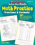 Book Cover Image. Title: Solve-the-Riddle Math Practice:  Fractions & Decimals: 50+ Reproducible Activity Sheets That Help Students Master Fraction & Decimal Skills (PagePerfect NOOK Book), Author: Liane B. Onish