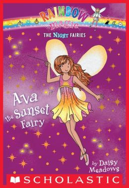 Ava the Sunset Fairy (Night Fairies Series #1)