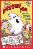 Book Cover Image. Title: Monkey Me #4:  Monkey Me and the School Ghost (A Branches Book), Author: Timothy Roland