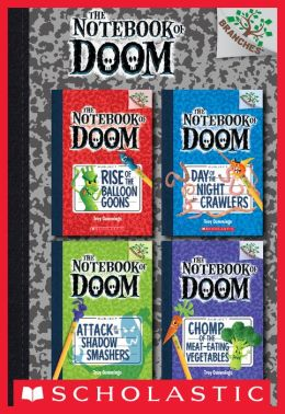 The Notebook of Doom Collection: Books 1-4