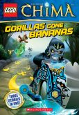 Book Cover Image. Title: LEGO Legends of Chima:  Gorillas Gone Bananas (Chapter Book #3), Author: Greg Farshtey
