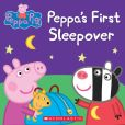 Book Cover Image. Title: Peppa Pig:  Peppa's First Sleepover, Author: Scholastic