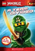 Book Cover Image. Title: LEGO Ninjago:  A Team Divided (Chapter Book #6), Author: Tracey West