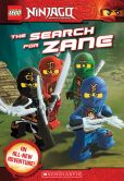 Book Cover Image. Title: LEGO Ninjago:  The Search for Zane (Chapter Book #7), Author: Kate Howard