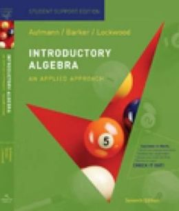 Introductory Algebra: An Applied Approach, Student Support Edition