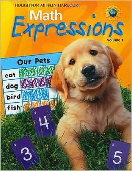 Math Expressions: Student Activity Book Softcover, Volume 1 Level K 2009