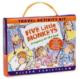 Five Little Monkeys Travel Activity Kit