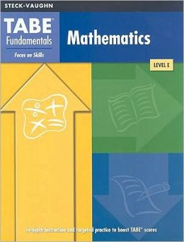 TABE Fundamentals: Test Workbook (Level E) Mathematics