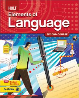 Elements of Language: Homeschool Package Grade 8 Second Course