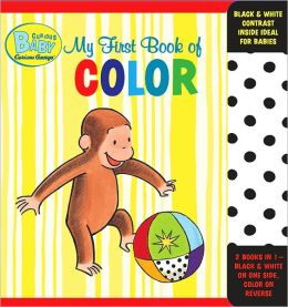 Curious Baby My First Book of Color (Curious George Accordion-Fold Board Book)